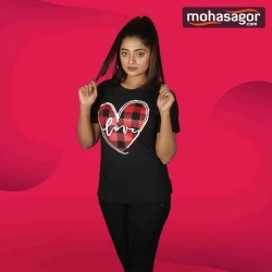 valentine's t-shirt for women