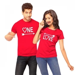valentine couple t shirt