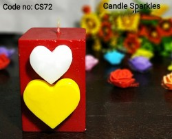 love pillar candle