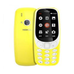 nokia 3310 mobile-yellow