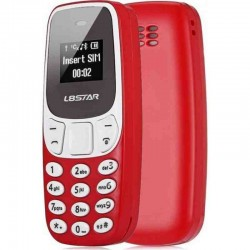 l8star bm10 mini small phone dual sim-red