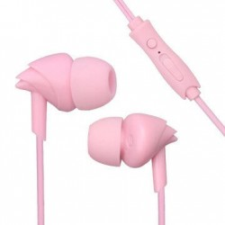 stylish earphone u17 pink