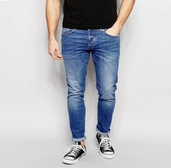 semi narrow fit gents jeans pants