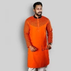men's stylish semi long panjabi