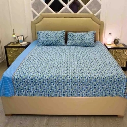 double size bed sheet 3 pcs set