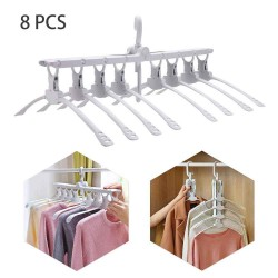 multi-functional clothes folding hanger 8ranks set