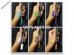 eye shadow pencil 6 pieces a