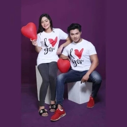 couples special valentines t-shirt combo