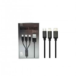 remax gition series 3in1 charging cable