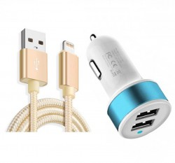 car iphone charger (duel port)